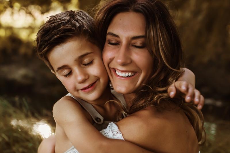 Mum and boy